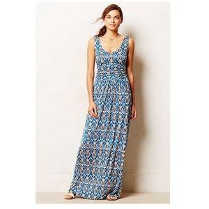 Anthropologie Vanessa Virginia Maxi Dress Sz L